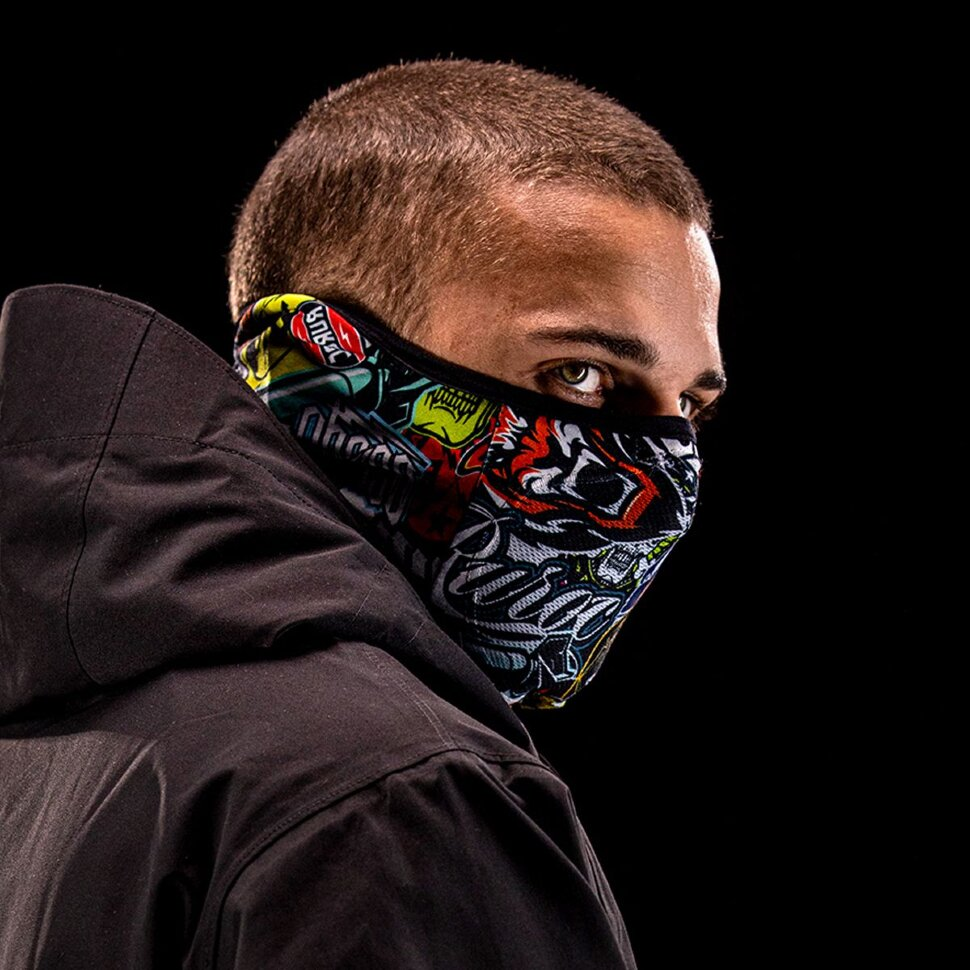 Балаклава RUROC Lite Stickerbomb Snood